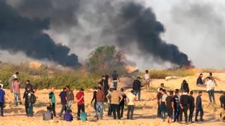 H9 gaza border