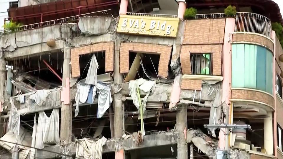 H11 philippines rocked earthquake mindanao 12000 homeless