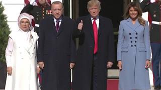 H3 trump erdogan white house press conference turkey syria