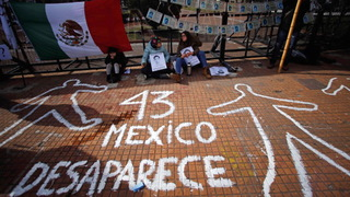 H4 ayotzinapa mexico city protest