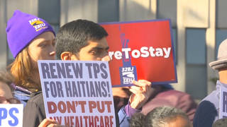 H16 tps hatians protest