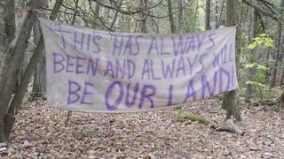 H9 quebec canada mohawk man hunger strike first nations tribe real estate developers kanehsata ke ellen gabriel