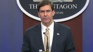 H1 defense secretary mark esper soleimani embassy attacks us iran