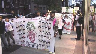H5 ayotzinapa nyc protest