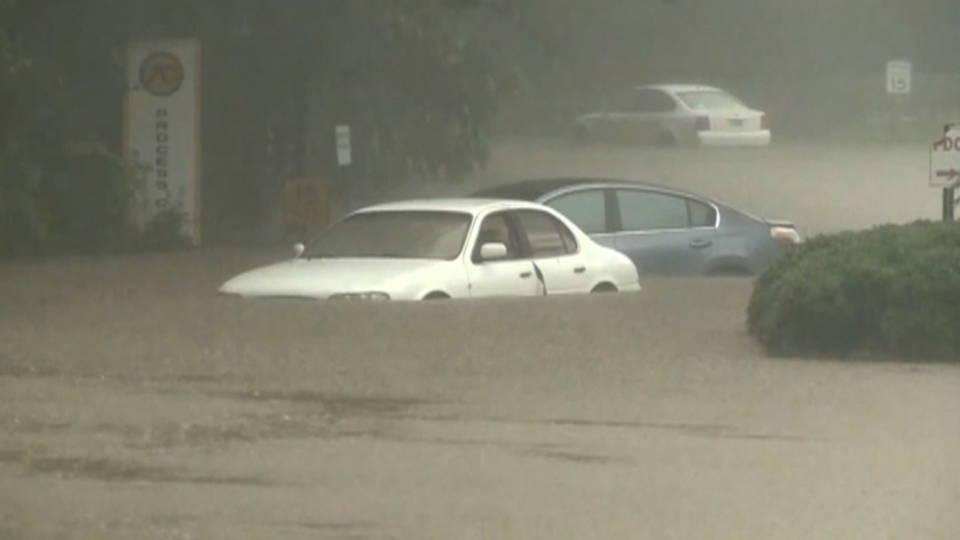 H13 flooding tropical storm cindy