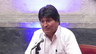 H5 evo morales bolivia mexico national dialogue press conference
