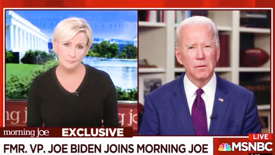 Joe Biden on sexual assault allegation: 'never, never happened'