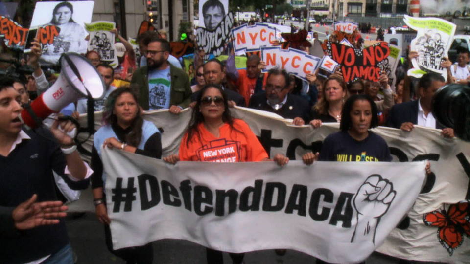 Three Lawmakers Among 10 Arrested At Daca Protest Outside Trump