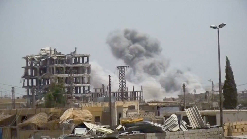 H1 us raqqa bombing war crime