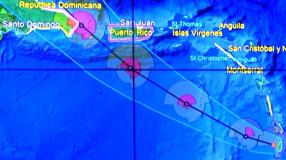 H2 puerto rico tropical storm dorian wanda vazquez trump tweet