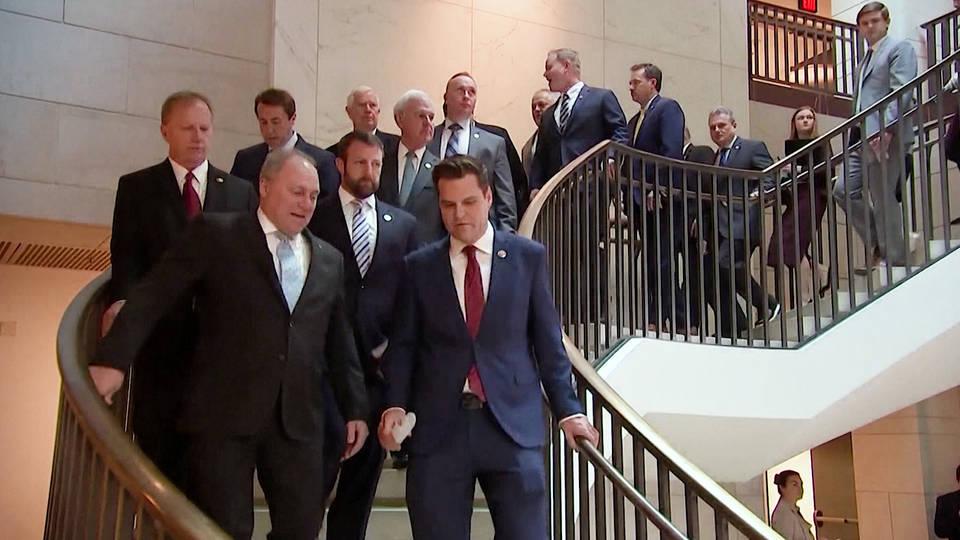 两个共和党议员指责共和党领导人被否决了