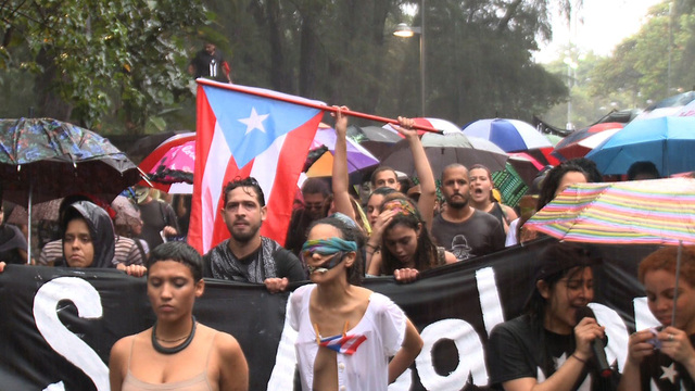 Puerto rico trump protest election
