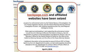 H13 backpage seized sex workers at risk