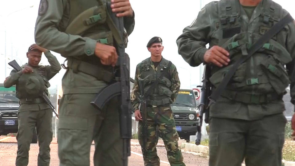 H5 venezuela border patrolled