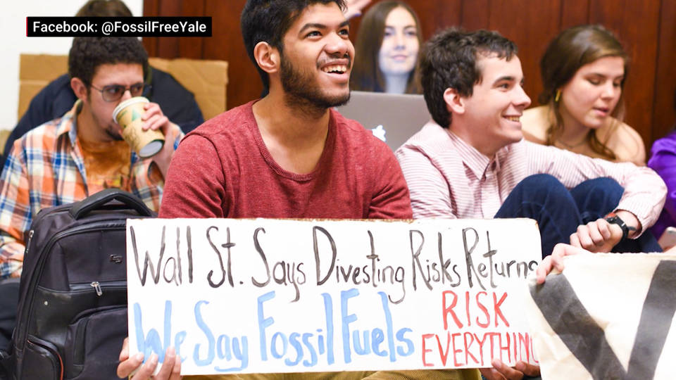 H11 yale student protest