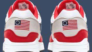 H14 nike independence air max sneaker kaepernick betsy ross flag arizona