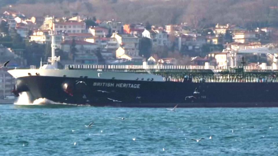 H6 iran navy britain tanker hormuz strait uk