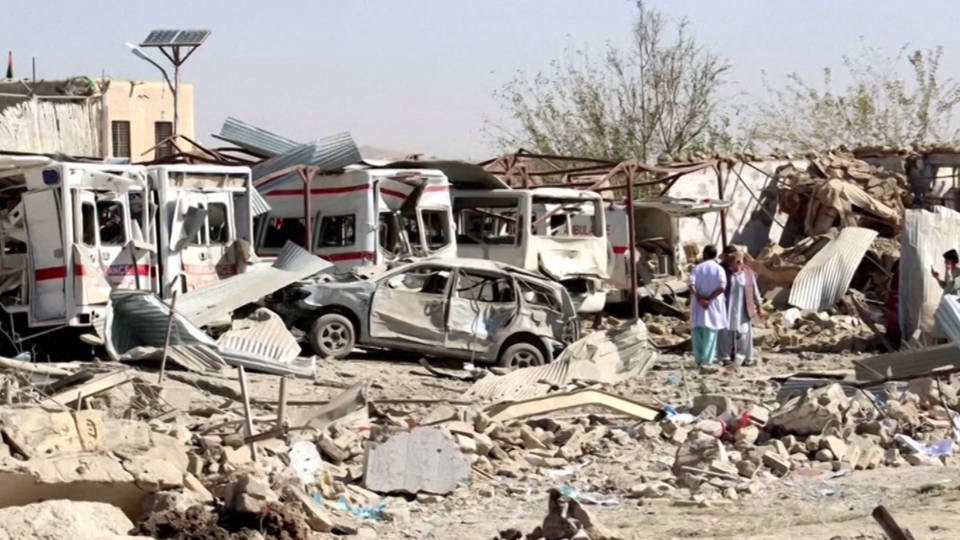 Afghanistan hospital attack deaths rise to 39, with 140 wounded