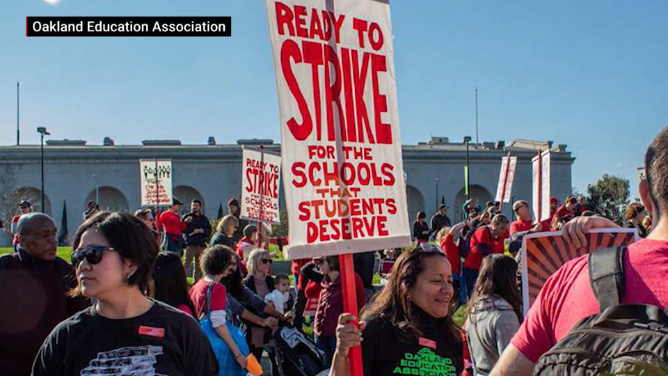 H11 oakland teachers strike