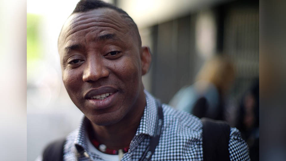 H7 nigeria journalist poitical activist arrested omoyele sowore revolution now sahara reporters