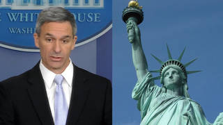 H2 cucinelli statue of liberty emma lazarus poem immigration public charge interview npr