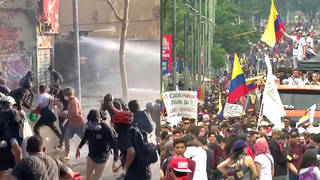 H7 chile colombia inequality protests governments latin america