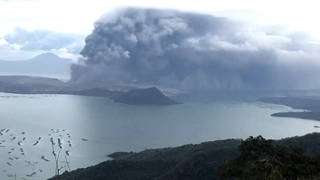 H6 taal volcano erupts philippines puerto rico earthquakes