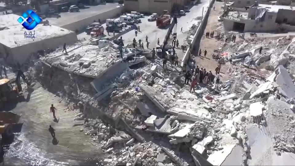 H4 trump warns syria over idlib attack