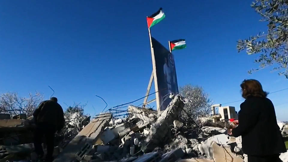 H8 israel accused collective punishment after demolishing palestinian homes