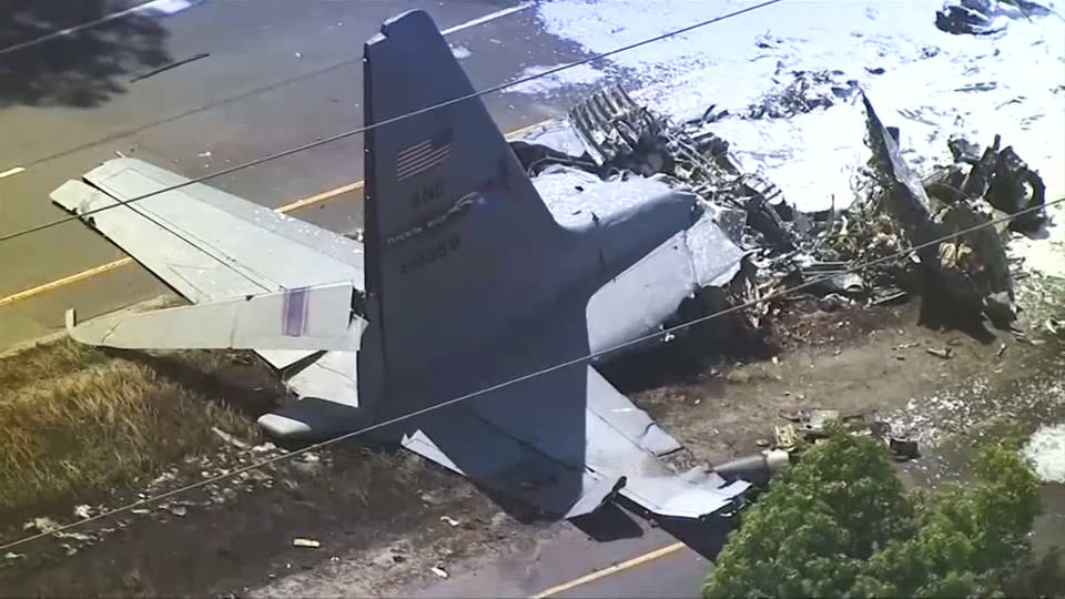 H8 puerto rico air national guard crash
