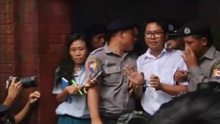 H5 reuters journalists walone kyawsoeoo burma sentenced