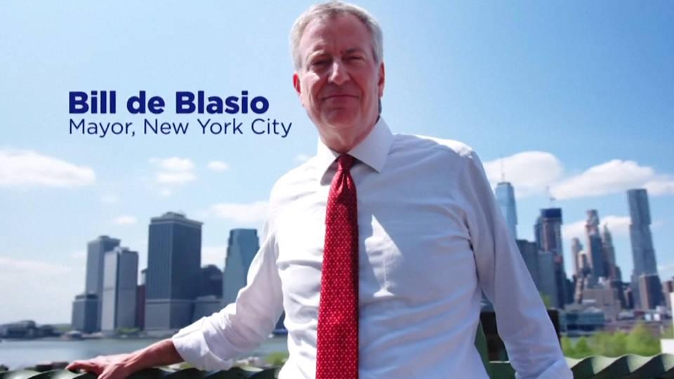 H18 nyc mayor bill deblasio 2020