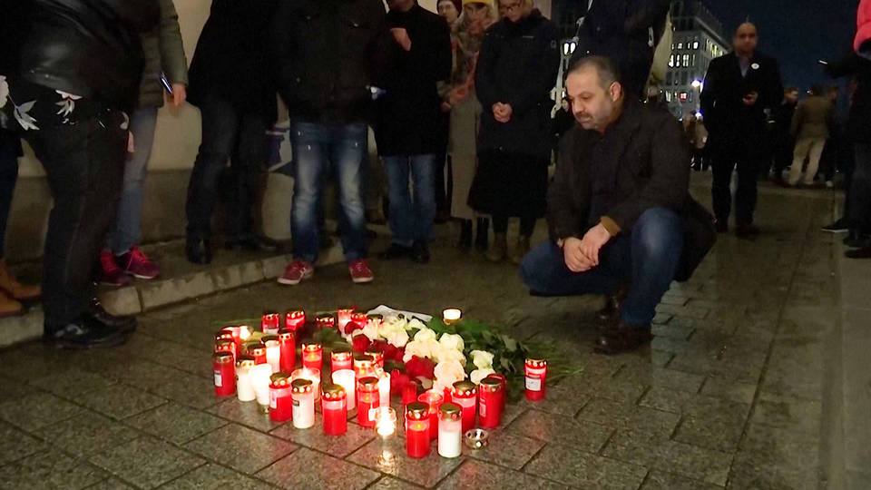 H3 germany mourns victims right wing terror attacks