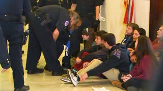H3 dc sitin student arrests