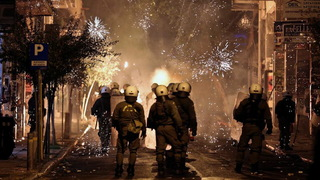 H13 greece protest police killing