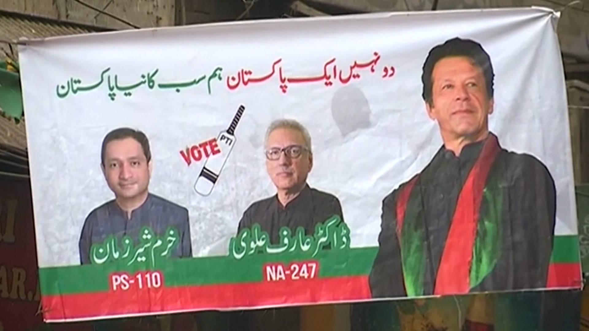 Pakist n imran khan se prepara para convertirse en primer ministro al tiempo que la oposici n - Tiempo en pakistan ...