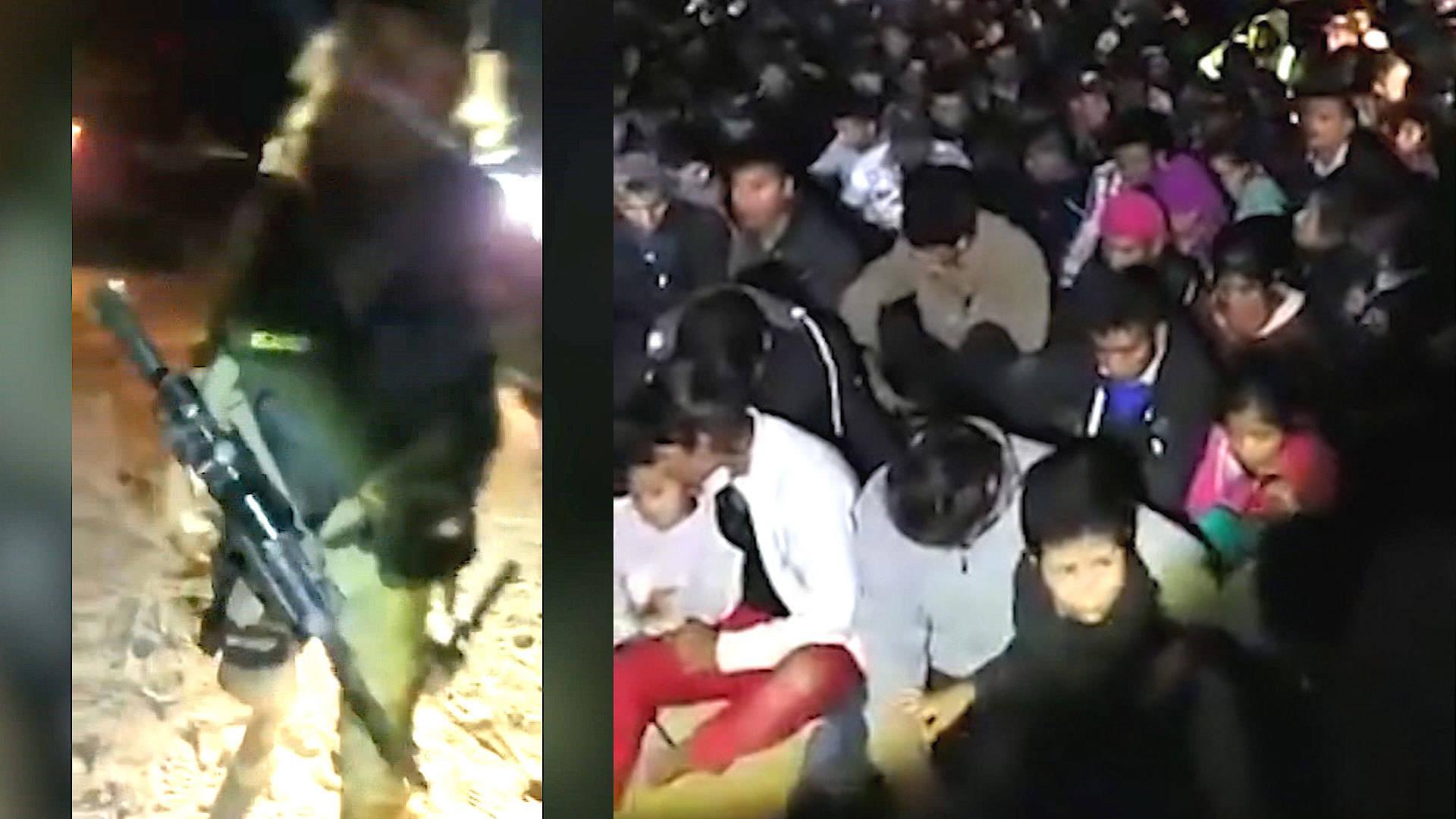 "ACLU Warns of ""Fascist Militia"" Holding Migrant Border Crossers at Gunpoint"