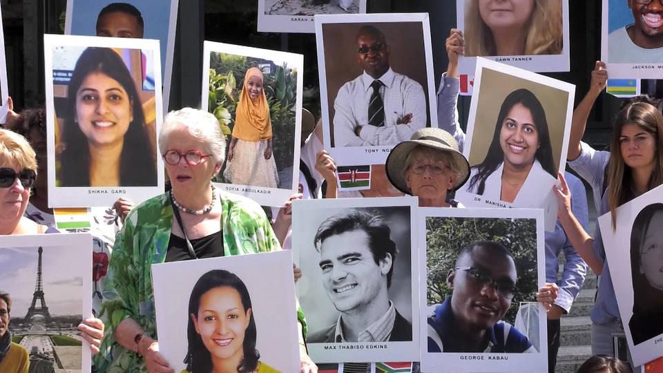 H11 ethiopian crash victims vigil dc boeing 737