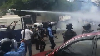 H07 honduras water cannon