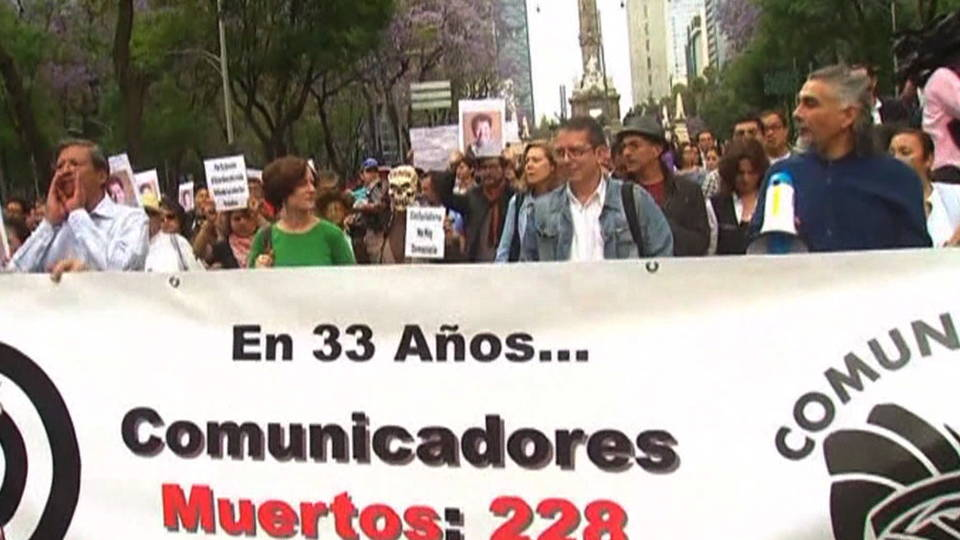 H19 mexico protest murder