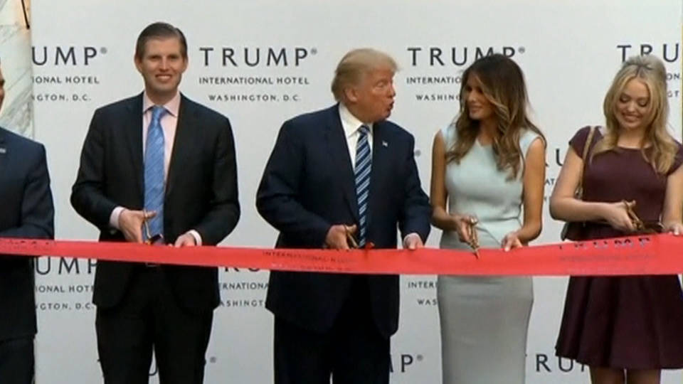 H14 trump hotel ceremony