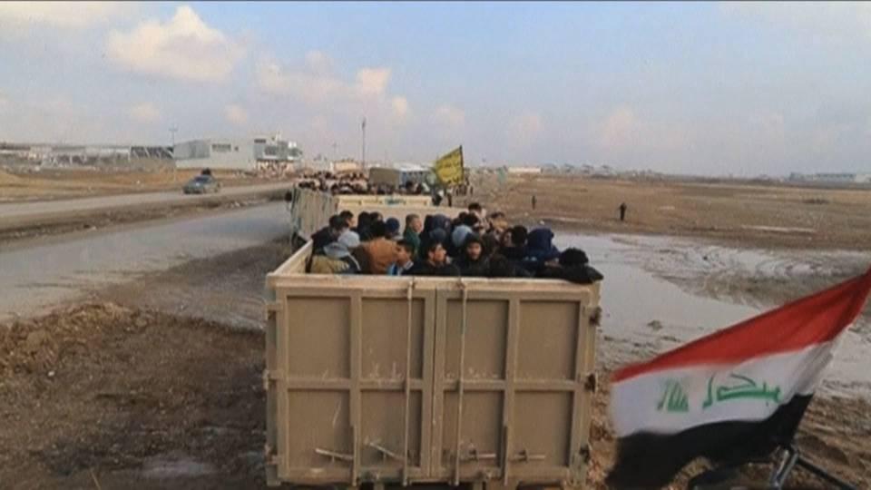 Mosul displaced