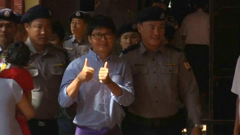 H5 jailed journo