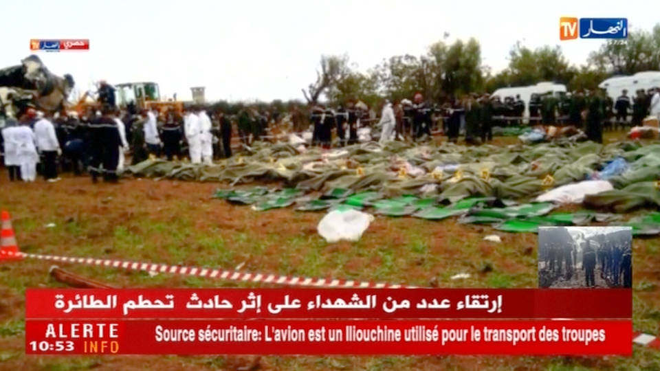 H6 algerian plane crash
