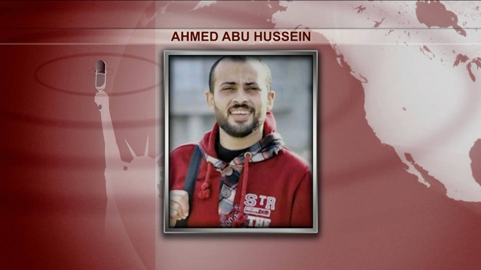 H7 palestinian journalist killed ahmed abu hussein
