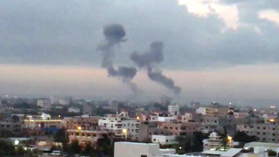 H7 gaza bombing