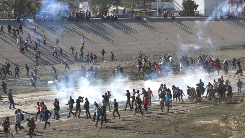 H1 border patrol tear gas