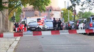 H6 halle germany anti semitic attack killed temple yom kippur gunman judaism jewish synagogue