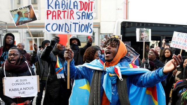 H14 congo protests
