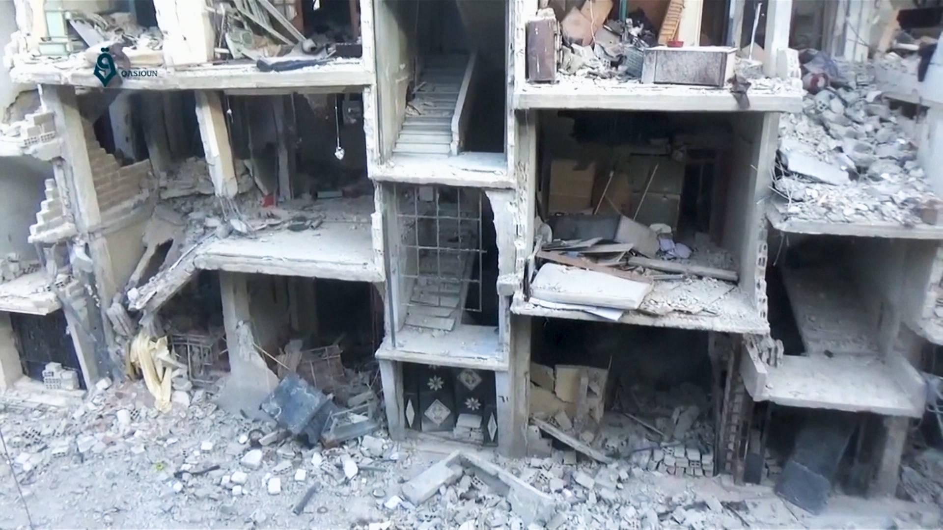 Siria Contin A Ofensiva Contra Guta Oriental Mientras Fracasa El  # Muebles Luciano